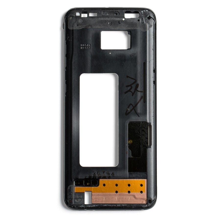 Midframe For Samsung Galaxy S8 Midnight Black Wholesale
