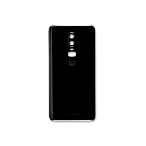 Back Cover for OnePlus 6 (Genuine OEM) - Mirror Black