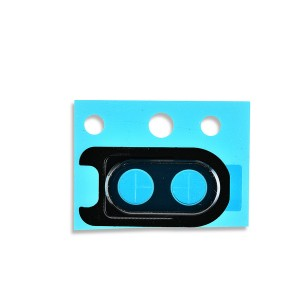 Rear Camera Lens with Bezel for OnePlus 6 (Genuine OEM) - Black