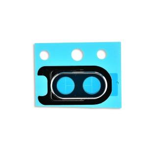 Rear Camera Lens with Bezel for OnePlus 6 (Genuine OEM) - White