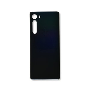 Back Cover for Moto Edge (XT2063) (Authorized OEM) - Midnight Black