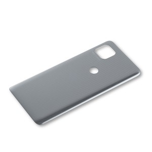 Back Cover for Moto One Ace 5G (XT2113) (Authorized OEM) - Hazy Silver