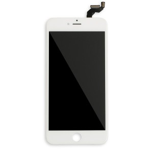 LCD Frame Assembly for iPhone 6S Plus (BASIC) - White (Bulk Pricing Available)