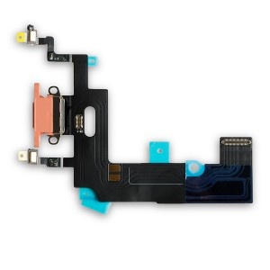 """Charging Port Flex Cable for iPhone XR (6.1"""") - Coral"""