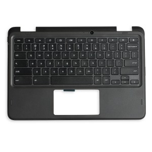 Palmrest with Keyboard (OEM Pull) for Dell Chromebook 11 5190 2-in-1