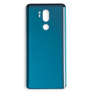 Back Glass for LG G7 ThinQ (w/ Adhesive) (Generic) - Moraccan Blue
