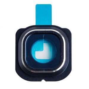 Back Camera Glass Cover for Samsung Galaxy S6 Edge - Black Sapphire