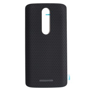 Back Cover for Motorola Droid Turbo 2 / Moto X Force (XT1580) (Authorized OEM) - Black