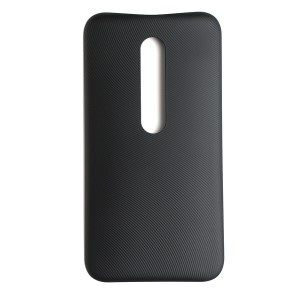 Back Cover for Motorola Moto G3 - Black (XT1540) (Authorized OEM)