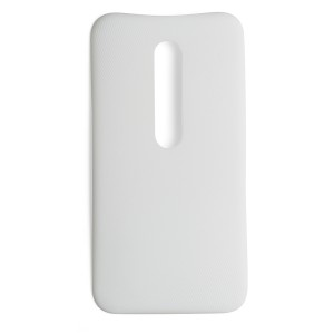 Back Cover for Motorola Moto G3 - White (XT1540) (Authorized OEM)