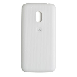 Back Cover for Moto G4 Play (Authorized OEM) - White