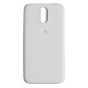 Back Cover for Motorola Moto G4 Plus / Moto G4 (XT1643 / XT1625) (Authorized OEM) - White