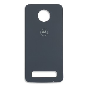 Back Glass for Moto Z3 Play (Authorized OEM) - Deep Indigo