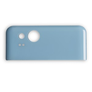 Back Glass for Google Pixel 2 (w/ Adhesive) - Blue
