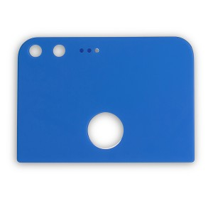 Back Glass for Google Pixel XL (w/ Adhesive) - Blue