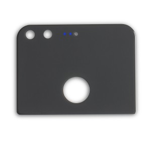 Back Glass for Google Pixel (w/ Adhesive) - Black