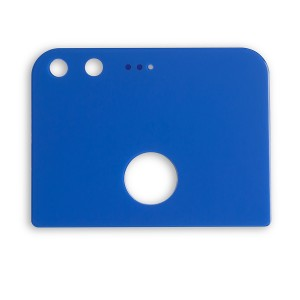 Back Glass for Google Pixel (w/ Adhesive) - Blue