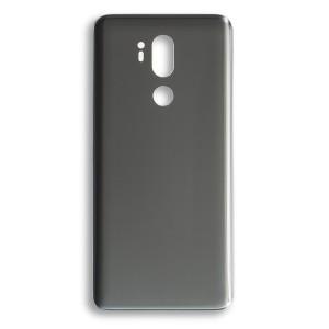 Back Glass for LG G7 ThinQ (w/ Adhesive) (Generic) - Platinum Gray