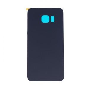 Back Glass for Samsung Galaxy S6 Edge Plus (w/ Adhesive) (Generic) - Black Sapphire