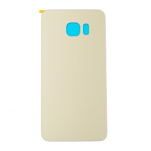 Back Glass for Samsung Galaxy S6 Edge Plus (w/ Adhesive) (Generic) - Gold