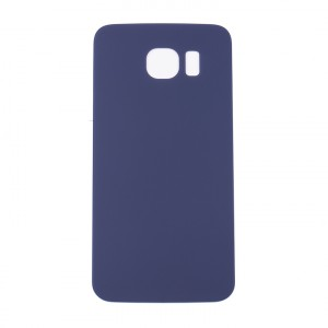 Back Glass for Samsung Galaxy S6 (w/ Adhesive) (Generic) - Black Sapphire