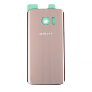 Back Glass for Samsung Galaxy S7 (w/ Adhesive) (PrimeParts - OEM) - Gold