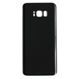Back Glass for Samsung Galaxy S8+ (w/ Adhesive) (Generic) - Midnight Black