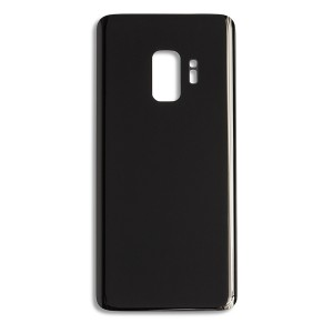 Back Glass for Samsung Galaxy S9 (w/ Adhesive) (Generic) - Midnight Black