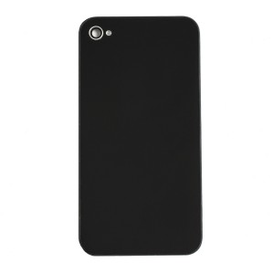 Back Glass for iPhone 4S (Generic) - Black