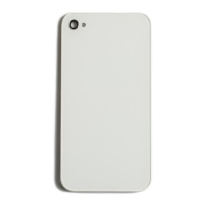 Back Glass for iPhone 4S (Generic) - White