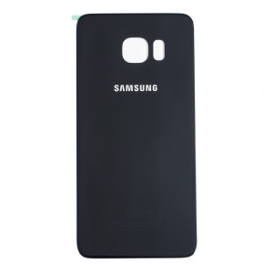 Back Glass for Samsung Galaxy S6 Edge Plus (w/ Adhesive) (PrimeParts - OEM) - Black Sapphire