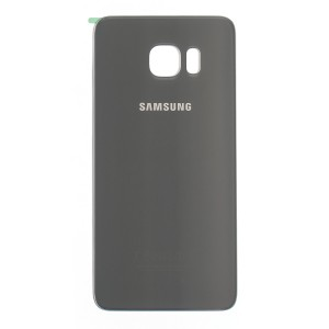 Back Glass (w/ Adhesive) for Samsung Galaxy S6 Edge Plus (PrimeParts - OEM) - Silver