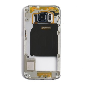 Back Housing for Samsung Galaxy S6 Edge (G925A / G925T) - Black
