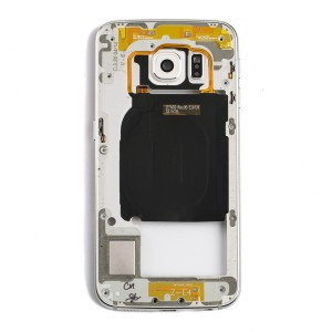 Back Housing for Samsung Galaxy S6 Edge (G925A / G925T) - White