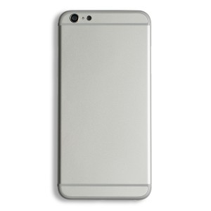 Back Housing for iPhone 6 Plus (Generic) - Silver