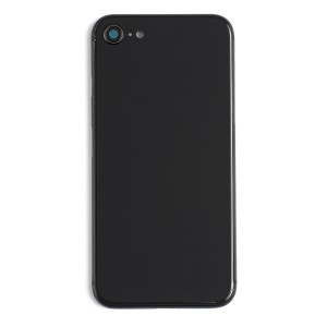 Back Housing w/ Back Glass for iPhone 8 (Generic) - Space Gray