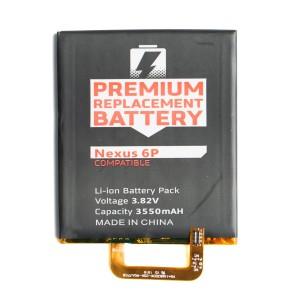 Battery for Huawei Google Nexus 6P (MDSelect)
