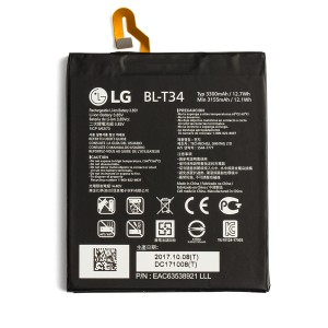 Battery for LG V30 (BL-T34) (Genuine OEM)
