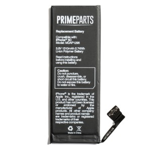 Battery for iPhone 5C (PrimeParts) New Zero-Cycle