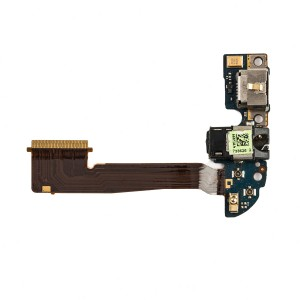 Charging Port Flex Cable for HTC One M8 (32GB Version) (Dual Antenna)