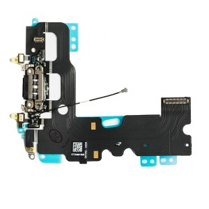 Charging Port Flex Cable for iPhone 7 - Black