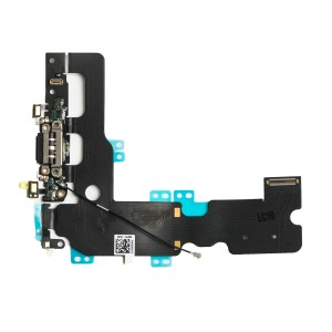 "Charging Port Flex Cable for iPhone 7 Plus (5.5"") - Black"