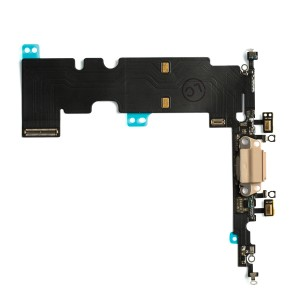 Charging Port Flex Cable for iPhone 8 Plus - Gold
