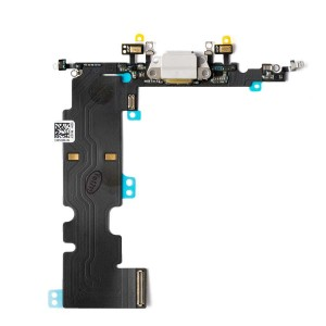 Charging Port Flex Cable for iPhone 8 Plus - Silver