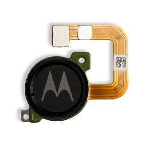 Fingerprint Scanner with Adhesive for Moto E5 Play (Authorized OEM) - Black