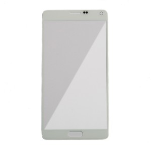 Glass Lens for Samsung Galaxy Note 4 (Generic) - White