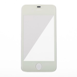 Glass Lens for iPhone 4S - White