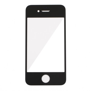 Glass Lens for iPhone 4 GSM / iPhone 4 CDMA - Black