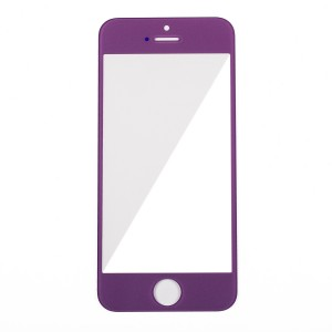 Glass Lens for iPhone 5 - Purple