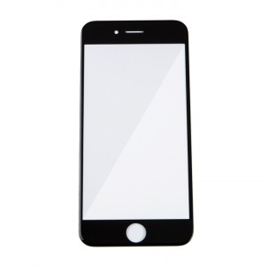 """Glass Lens for iPhone 6 (4.7"""") / iPhone 6S (4.7"""") (w/ OCA) - Black"""